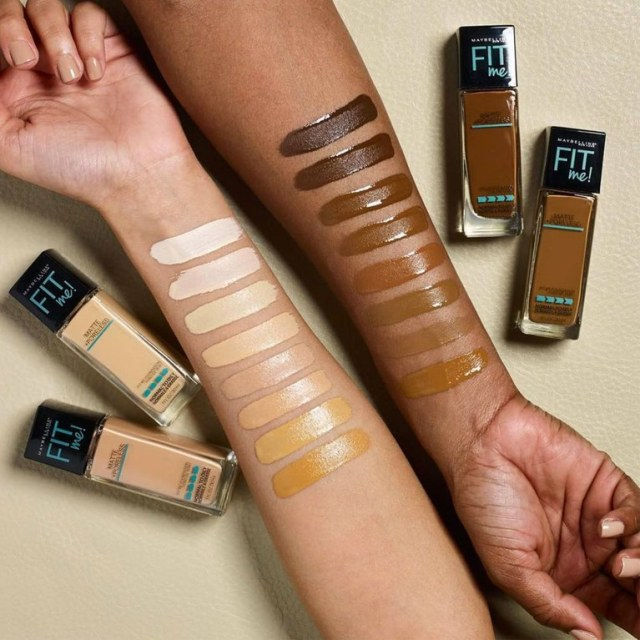 maybelline fit me via allure
